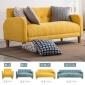 布艺小沙发日式现代简约单人双人三人多人正装商用小户型沙发组合