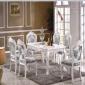 �S家直�N�W式餐桌椅成套桌椅大理石面餐桌��木�L桌�W式�桌