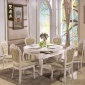 �S家直�N高品�|�A形�W式大理石��木餐桌椅�M合餐�d家具�p�w燕家具