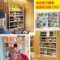 创意壁挂式书架 儿童书架 实木书柜幼儿园图书架 置物小柜子木架