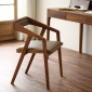 ��s��意扶手咖啡�d餐�d酒店餐椅美式泡茶���h�凸��木椅子 批�l